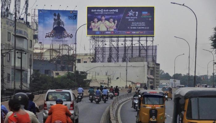 Pro Kabaddi Hoarding Basheerbagh Flyover, Hyderabad