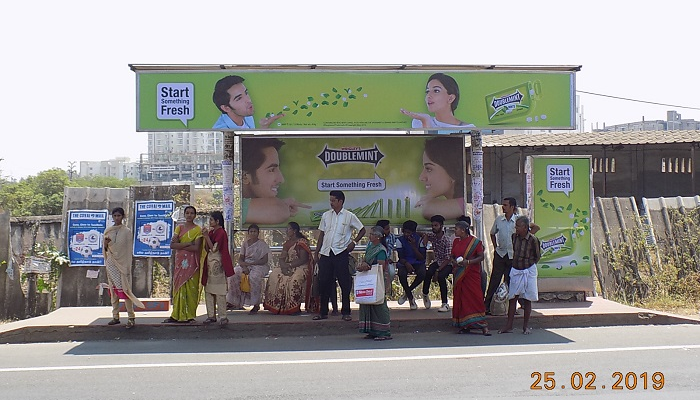 Bus Shelters at Coimbatore