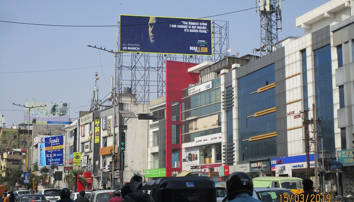 Hoardings at Hyderabad