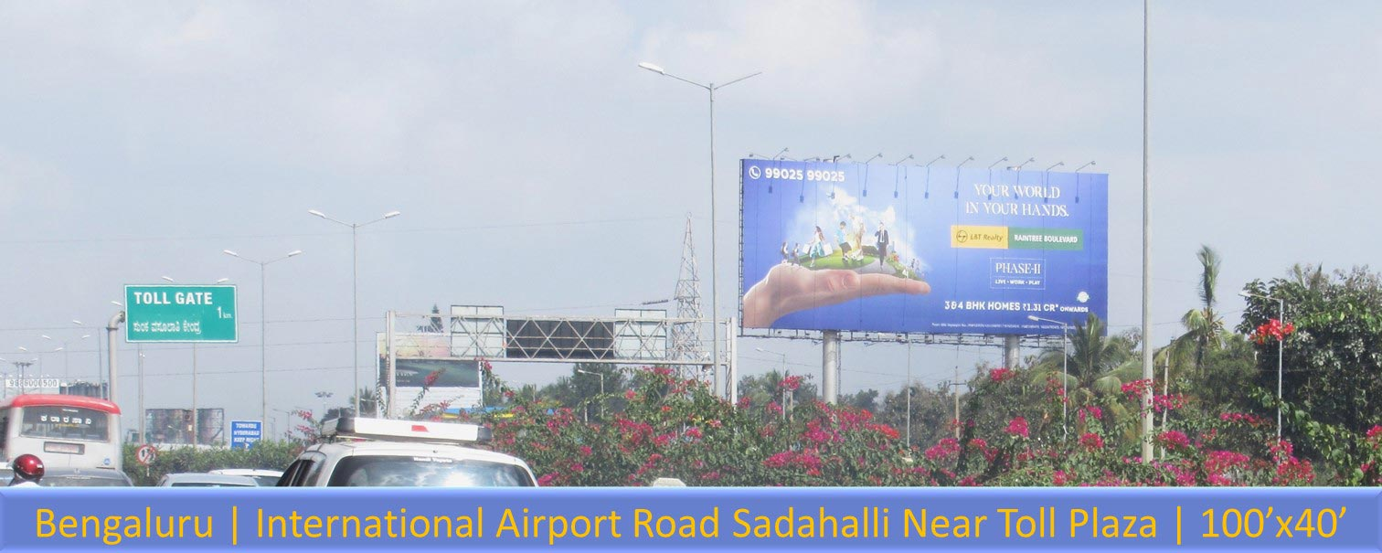Bengaluru-International-Airport-Road-Hoarding-and-Billboards-